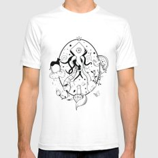 Creation SMALL White Mens Fitted Tee
