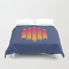 Break the Night with Color Duvet Cover