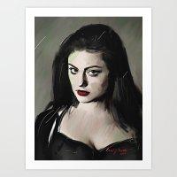 Phoebe Tonkin Art Print