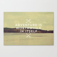 Worthwhile Canvas Print