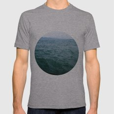 Nautical Porthole Study No.1 Mens Fitted Tee Athletic Grey SMALL