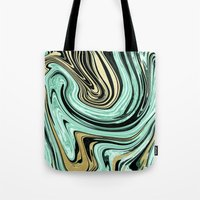 MARBELLOUS IN MINT AND G… Tote Bag