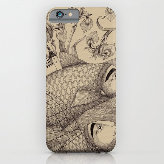 The Golden Fish (1) iPhone & iPod Case