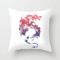 Dragon's Myth Throw Pillow