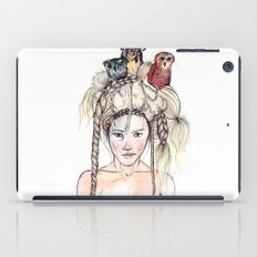 Owls in the head iPad Case