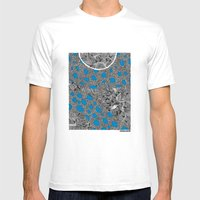 - cosmos_04 - Mens Fitted Tee White SMALL
