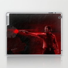 The Walking Dead Rick Grimes oil painting effect Laptop & iPad Skin