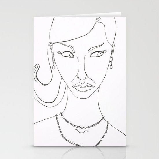 Irene Stationery Card