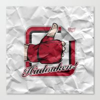 Hadouken! Canvas Print
