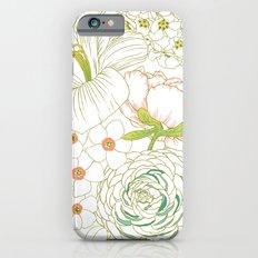 Big Blooms iPhone 6s Slim Case