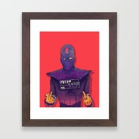 Foot Clan Framed Art Print