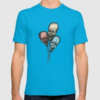3 Wise Balloons Mens Fitted Tee Teal SMALL