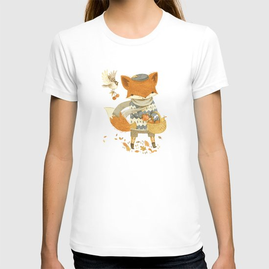 Fritz the Fruit-Foraging Fox T-shirt