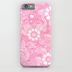 Henna Design - Pink Slim Case iPhone 6s
