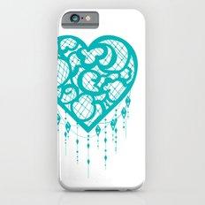 Heart-Catcher Teal Slim Case iPhone 6s