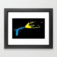 CMYKill Framed Art Print