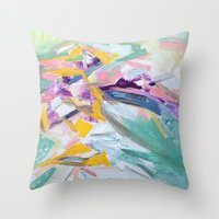 Wind Chime Throw Pillow