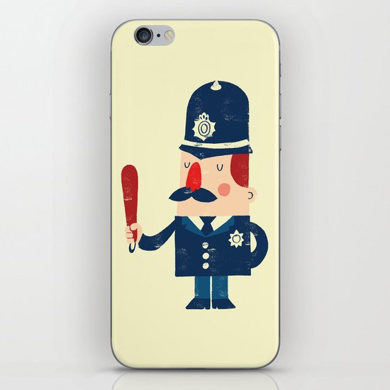 'Ello, 'ello, 'ello! iPhone & iPod Skin