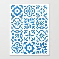 Spanish Tiles Canvas Print