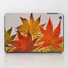 Autumn abstract watercolor 03 iPad Case