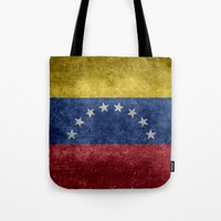 The national flag of the Bolivarian Republic of Venezuela -  Vintage version Tote Bag