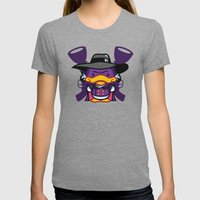 Hello Drakie Womens Fitted Tee Tri-Grey SMALL