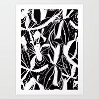 Snowy Forest II Art Print