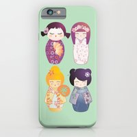 Kokeshis Four Seasons iPhone 6 Slim Case