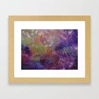 JELLYFISH BALLET Framed Art Print