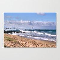 Bashams Beach Canvas Print