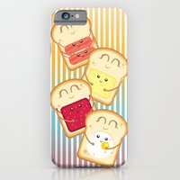 iPhone Cases featuring Love your Breakfast by Alessandro Aru