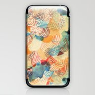 iPhone & iPod Skin featuring I Dream In Colors by Marcelo Romero