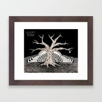Lucky Tree Framed Art Print
