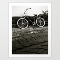 Art Print featuring South Tacoma cruiser by Vorona Photography