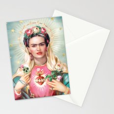 Saint Frida Kahlo Stationery Cards