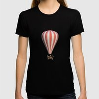 Bygone era Womens Fitted Tee Black SMALL