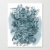 Idea Of The Truth Canvas Print