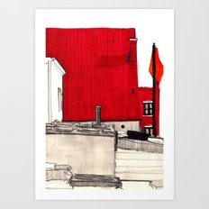 Ukrainian Village - Chicago Art Print