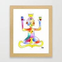 TIGNA REALE Framed Art Print