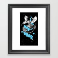 Dragon Cloud Framed Art Print