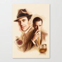 MAD MEN DON DRAPER Canvas Print