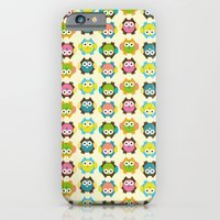 iPhone & iPod Case featuring Owls by nzall