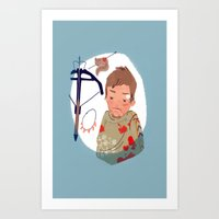 As You Can Not Love A Cr… Art Print