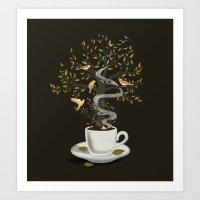A Cup of Dreams Art Print