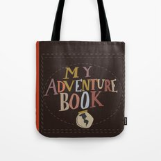 My Adventure Book.. Up, … Tote Bag