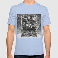 The Void Tigers' Last Smiling Crawl Towards A Long Dead God Mens Fitted Tee Tri-Blue SMALL