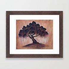 Sunrise Oak Framed Art Print