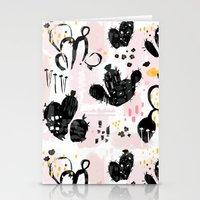 cactus sketchbook Stationery Cards