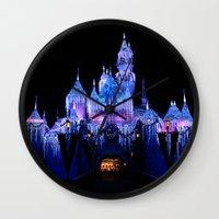 Sleeping Beauty's Winter… Wall Clock