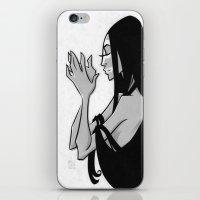 IN HER HANDS iPhone & iPod Skin
